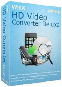 WinX HD Video Converter Deluxe 5.12.1.295 Build 25.05.2018 (2018) РС | RePack & Portable by elchupacabra