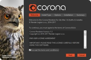 Corona Renderer 1.6.3 for 3ds Max 2012-2018 [En]