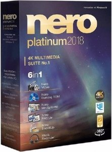 Nero 2018 Platinum 19.0.07300 Full RePack by Vahe-91 [Ru/En]