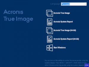 Acronis True Image 2018 Build 10410 BootCD [Multi/Ru]