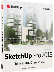 SketchUp Pro 2018 18.0.16975 + Plugins Pack (2017) PC
