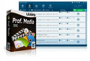 Leawo Prof. Media 7.8.0.0 (2018) PC