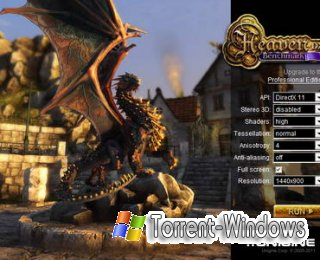 Heaven DX11 Benchmark v2.5