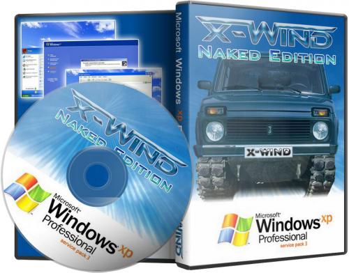 Windows XP Professional SP3 (X-Wind) by YikxX, RUS, VL
