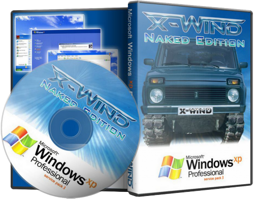 Windows XP Professional SP3 (X-Wind) by YikxX,RUS,VL,x86