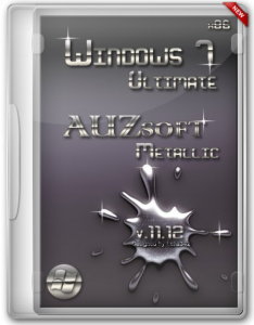 Windows 7 Ultimate (x86) AUZsoft Metallic v.11.12 (2012) Русский