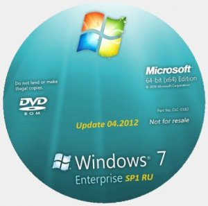 Microsoft Windows 7 Enterprise SP1 RU x64 Lite & Mini (2012) Русский