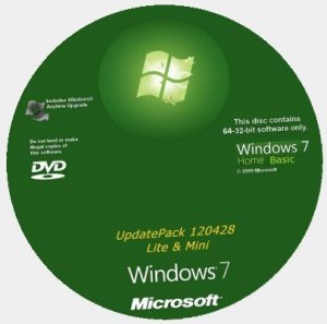 Microsoft Windows 7 Home Basic SP1 x86-x64 RU Lite & Mini 120428 (2012) Русский