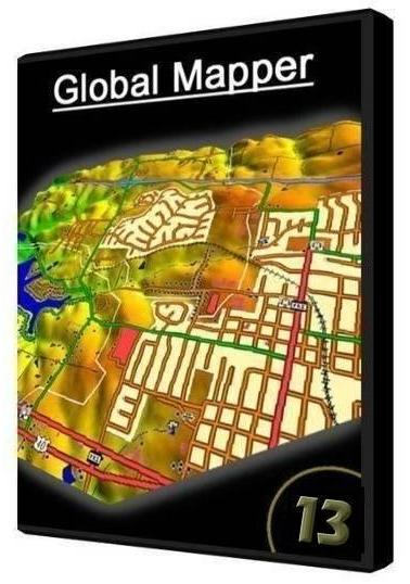 Global Mapper 13.0 Build 032812 (2012) Русский скачать торрент