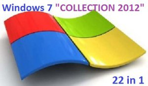 "Microsoft Windows 7 SP1 x86-x64 RU Update IV-V.2012 ""COLLECTION 2012"" (22 in 1) (2012) Русский"