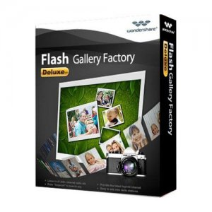 Wondershare Flash Gallery Factory Deluxe 5.2.1.15 (2012) Английский