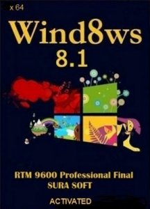 Windows 8.1 Professional RTM 9600 Final SURA SOFT (64bit) [2013] Русский