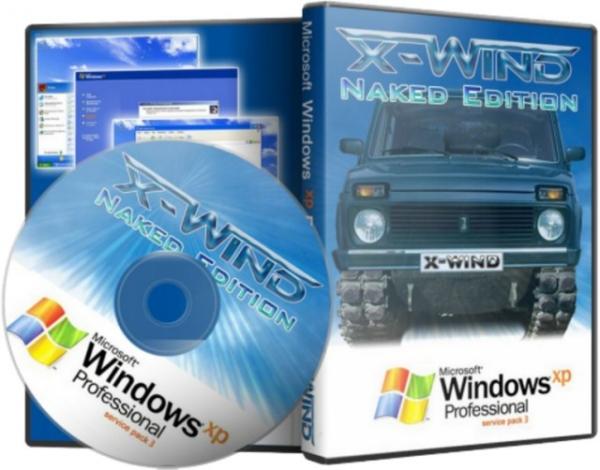 Windows XP Professional SP3 PLUS (X-Wind) by YikxX, RUS