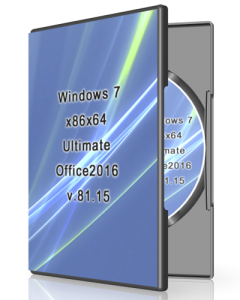 Windows 7 Ultimate Office2016 v.81.15 by UralSOFT (x86x64) [Ru] (2015)