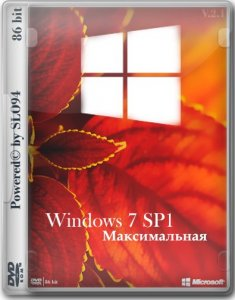 Windows 7 Максимальная SP1 by SLO94 (x86) [Ru] (v.16.01.16)
