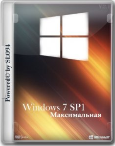 Windows 7 Максимальная SP1 by SLO94 v.16.01.16 (x64) [Ru] (2016)