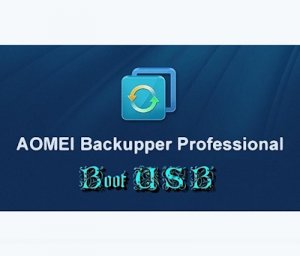 AOMEI Backupper Professional 3.2 BootUSB