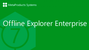MetaProducts Offline Explorer Enterprise 7.4.4572 SR3 (2017) PC