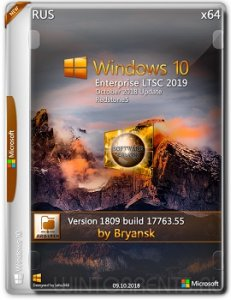 Windows 10 Enterprise LTSC 2019 (x64) 1809 (17763.55) by Bryansk Русский