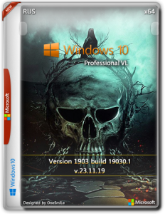 Windows 10 PRO VL 20H1 x64 Rus by OneSmiLe [19030.1]