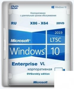 Windows® 10 Enterprise LTSC 2019 x86-x64 1809 RU by OVGorskiy 10.2020 2DVD
