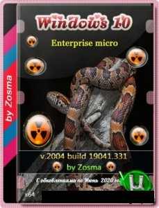 Windows 10 Enterprise x64 mini 2004 build 2004.19041.572 by Zosma