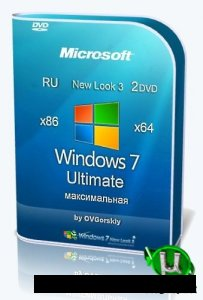 Windows 7 Ultimate Русская 32-х и 64-х битные  x86-x64 SP1 NL3 by OVGorskiy® 09.2020 2DVD