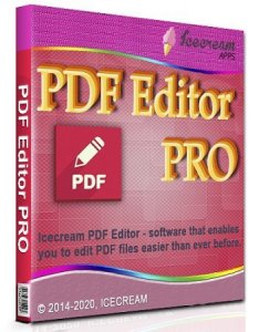 Icecream PDF Editor PRO 2.44 RePack (& Portable) by elchupacabra [Multi/Ru]